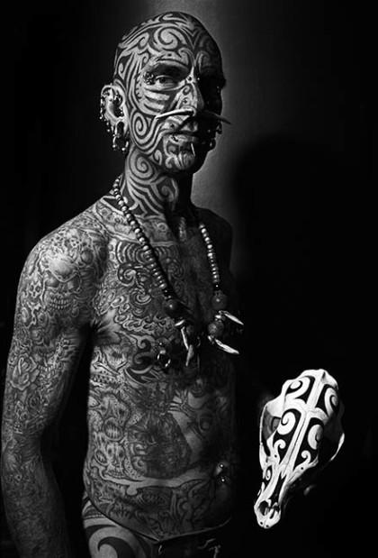 Tom©John Wyatt. Under My Skin at the Griffin Museum at Silver Digital Imaging through October 3.