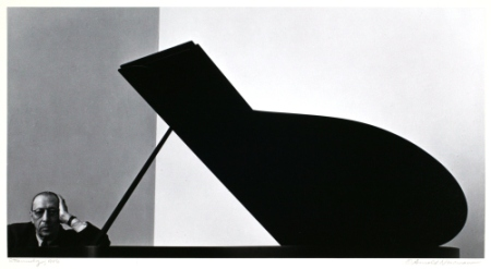 Igor Stravinsky©Arnold Newman. All Rights Reserved. Now through January at the Contemporary Jewish Museum.