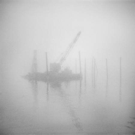 Untitled (Harbor Crane), 2014©Tonee Harbert. All Rights reserved