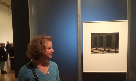 Paul Strand: Master of Modern Photography - at the Philadelphia Museum of Art, through January 4, 1915. I'm at the exhibit and viewing one of Strand's most iconic images, Wall Street, New York, 1915.  This is a vintage 1915 platinum print and worth the trip in itself.