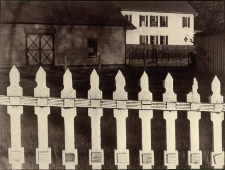 White Fence©Paul Strand. All Rights Reserved.