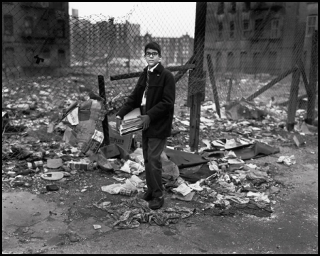 Bruce Davidson, Untitled from East 100th Street, 1966-68. ©Bruce Davidson / Magnum Photos. Courtesy Howard Greenberg Gallery. The City Lost and Found - At Princeton University Art Museum through June 7.