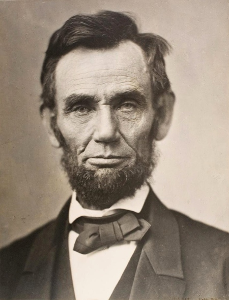 Abraham Lincoln, November 8, 1863, platinum print by Alexander Gardner. 70 rare photographs on view at the Chrysler Museum of Art through July 5.